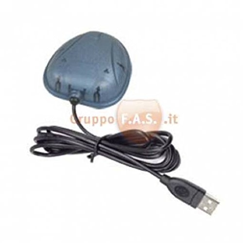 Antena GPS Haicom – Receptor GPS SIRF 3 con USB para PC