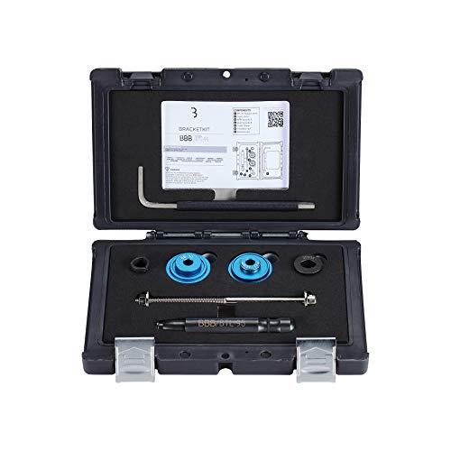 BBB Unisex-Adult Werkzeugset Bracket Kit BTL-95 Werkzeug, Black, Standard