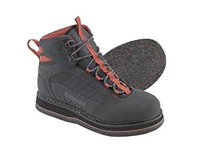 Simms Tributary Felt Sole Wading Boots Adult, Felt Bottom Fishing Boots
