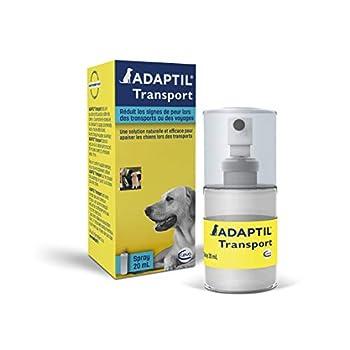 ADAPTIL ANIMO Concept Spray Anti-Stress pour Chien Spray pour Voyage Solution Apaisante 20 ML 5 Unités
