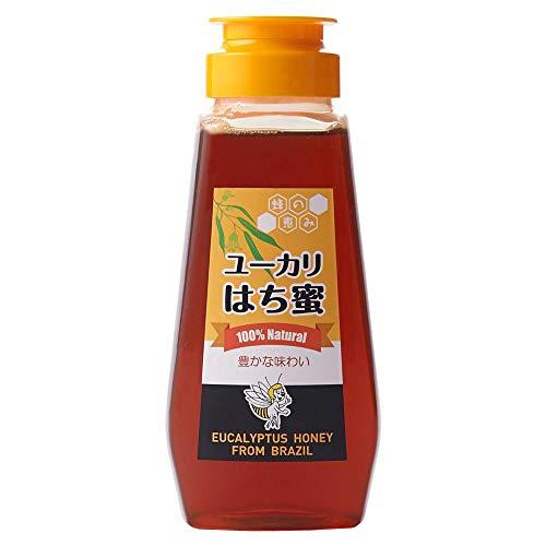 ユーカリはち蜜 サンフローラ ブラジル産 バルブボトル 300g
