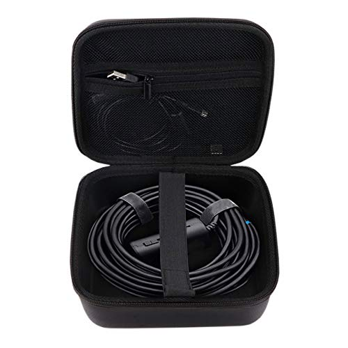 Oriolus Wireless Endoscope Carrying Case for Depstech Goodan Shekar Pancellent Fantronic KZYEE WiFi Wireless USB Borescope Endoscopes Camera with Cable Length About 33 feet / 10 Meter (Black)