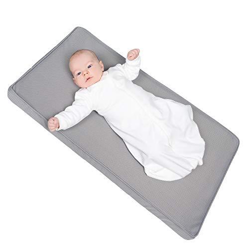 roba Safe Asleep Colchón Air Balance 45 x 90 cm, poliéster, Gris, 45x90 cm
