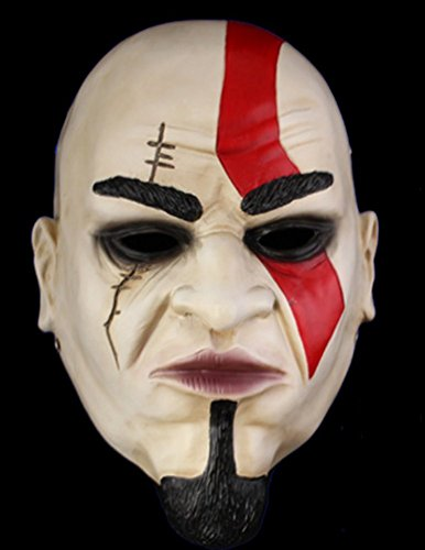 DLLL Cosplay-Maschera di Halloween, motivo: God of War-Replica Kratos 1:1 Collection