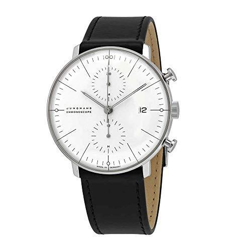 Junghans MAX Bill 027/4600.00 - Reloj de Pulsera para Hombre (automático, Esfera Plateada)