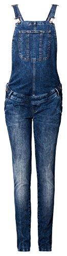 Noppies Latzhose Salopette AVA Jeans Latzhose Dark Wash Jeans Damen Umstandsmode