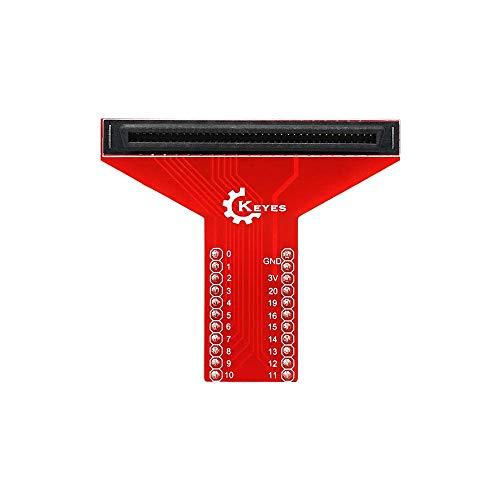 CAIJINJIN Módulo T-Tipo de apantallamiento Microbit de Tablero de expansión del módulo Adaptador PXT gráfica Interfaz de programación de la BBC Micro: Poco Junta T Tipo