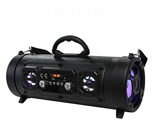 HAJZF M17 al Aire Libre portátil Bluetooth Altavoz Barril inalámbrico Tambor Ebay