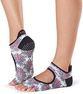 Grip Pilates Barre Socks - Non-slip Bellarina Half Toe For Yoga & Ballet - Calcetines Mujer