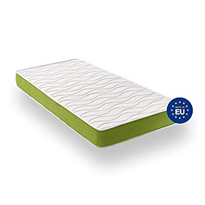 ZenPur Mattress Memory Foam + Blue Latex - Breathable SuperStretch 3D Fabric with Aloe Vera - Thickness 20 cm - 2 Years Warranty