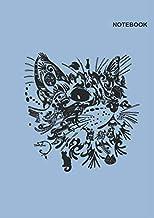 Notebook: Black cat notebook, Amazing Cat Mandala Design Cover, 110 College Ruled Paper, (8.27 x 11.69 inches) A4, College Ruled paper.