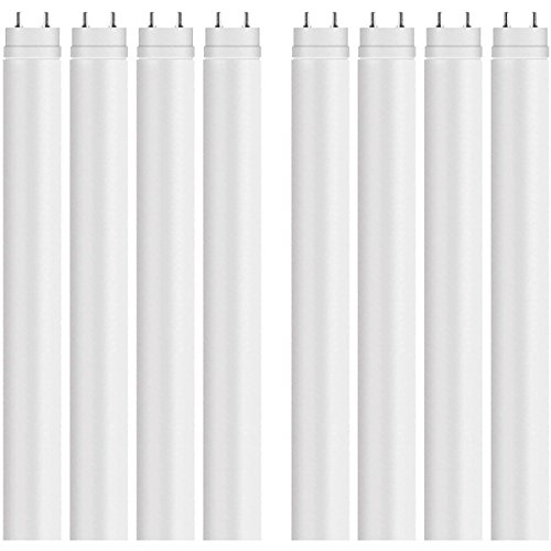 Osram LED Leuchtstoffröhre Substitube Value T8, LED Röhre in 150cm Länge mit G13- Sockel, Ersetzt 58 Watt, Warmweiß- 3000 Kelvin, 8er- Pack