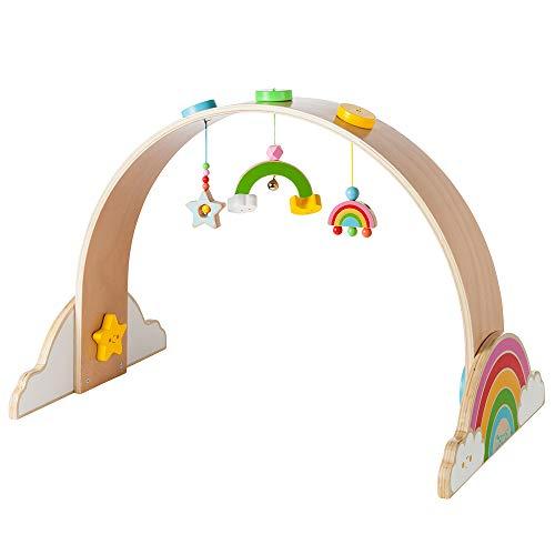 Howa Spielbogen Baby Gym aus Holz My Rainbow 6011