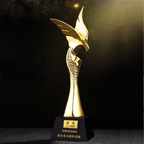 Aangepaste trofee internationale Elite vergulde hars trofee oprechte samenwerking ontwerp Lettering bedrijf jaarlijkse vergadering evenement wedstrijd prijzen geschenken