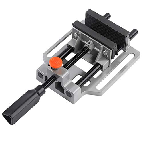 ULTECHNOVO Schraubstock Aluminiumlegierung Industrielle Stärke Tisch- Und Bohrmaschine Kippwinkel Schraubstock Holzbearbeitung Handwerkzeug