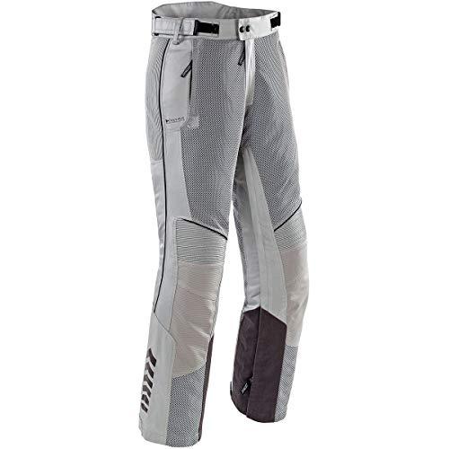 Joe Rocket Phoenix Ion Motorradhose für Herren, Netzstoff, silberfarben, Größe M