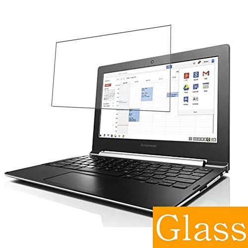 Synvy Tempered Glass Screen Protector for Lenovo CHROMEBOOK N20 / N20P 11.6' Visible Area Protective Screen Film Protectors 9H Anti-Scratch Bubble Free
