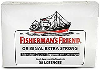 Fishermans Friend 38 Lozenges 10mg Original - Buy Packs and SAVE (Pack of 2)