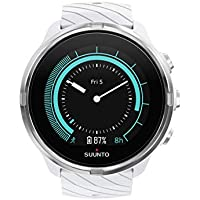 Suunto 9 Wrist-Based Heart Rate GPS Sports Watch With Long Battery Life (White)