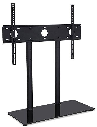 Mount-It. Universal Mesa TV Soporte Base, Altura Ajustable TV Soporte para Televisión para 32A 55Pulgadas LED LCD Pantallas Planas (mi-846)