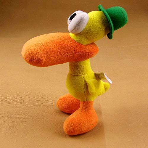 wwwl Juguete de Peluche 22cm Lindo Pato Duck Pocoyo Juguetes De Peluche De Felpa Suave para Niños Regalos De Cumpleaños