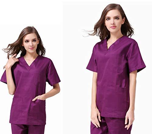 Unisex ziekenhuis dokter verpleegkundige scrub tops medische chirurgische uniformen tandarts kliniek apotheek huisdier dierenarts werkkleding