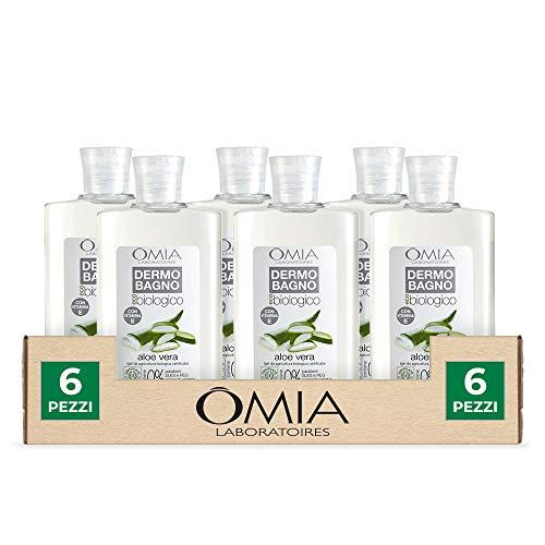 Omia Ecobio Dermo Baño Aloe, 6 unidades x 400 ml