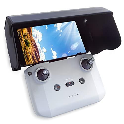 FPVtosky Parasole per DJI Mini 2, Parasole per DJI Mavic Mini 2/Mavic Air 2/Mavic Air 2/Mavic Air 2S Smart Controller, DJI Mini 2 Accessori/DJI Mavic Air 2S Accessori per Smartphone 4.2-7 pollici