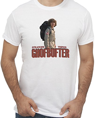New Indastria T-Shirt Stranger Things Ghostbuster - by