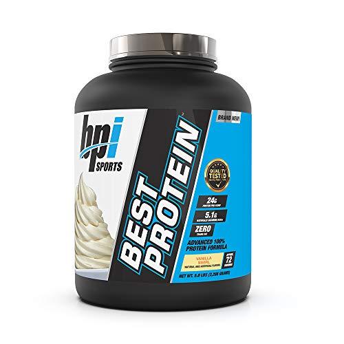 BPI Sports Best Protein For Men & Women Swirl, Vanilla, Vanilla Swirl, 5 Pound (Pack of 1), 80.71 Ounce