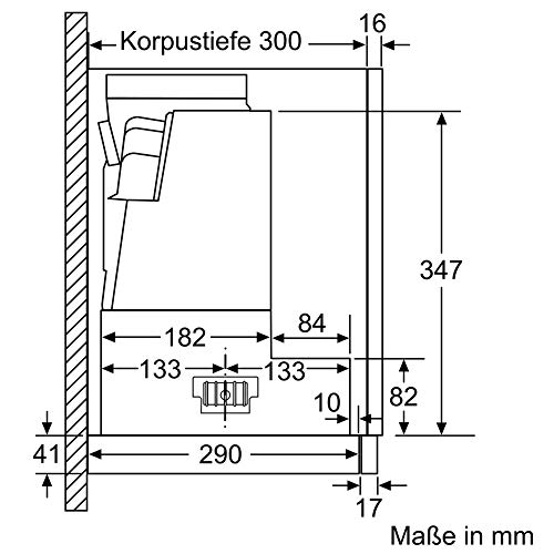 Bosch DFR067A50 Serie 4 Flachschirmhaube - 8
