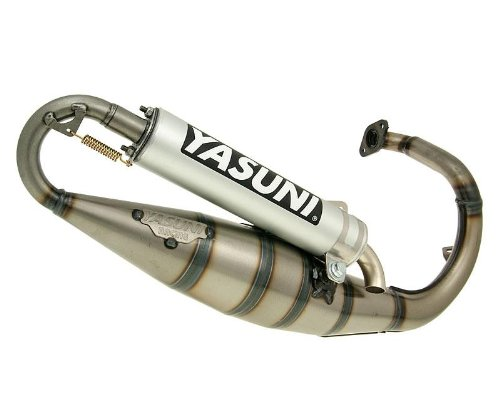 Yasuni Scooter R Aluminio Tubo de escape para Peugeot Speedfight 2 50 Ac/Lc 307 WRC, Splinter 50, Squab 50