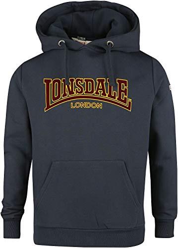 Lonsdale Sudadera para Hombre. Azul Marino XL