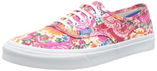 Vans U AUTHENTIC SLIM (MULTI FLORAL) VQEVB8I Unisex-Erwachsene Sneaker, Weiß ((Multi Floral)), EU 41 (US 8.5)