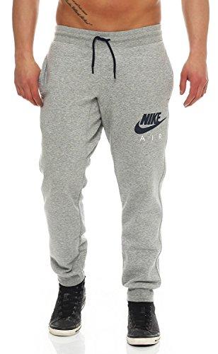 Nike Air AW77 Heritage Fleece Cuffed Herren Trainingshose Farbe: Grau; Größe: M