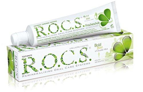 ROCS Doppelminze Zahnpasta 74 Gramm