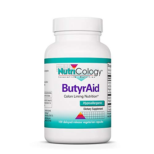 Nutricology Butyraid, Tablets, 100-Count