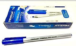 علبة اقلام تركي من بينسان - ترايبول- 12 قطعة- 1.0 مم - ازرق