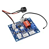 diymore DC12V 4-Wire PWM PC Fan Temperature Control Manumotive Fan Speed Controller Module CPU High-Temperature Alarm with Buzzer with NTC 3950 Thermistor