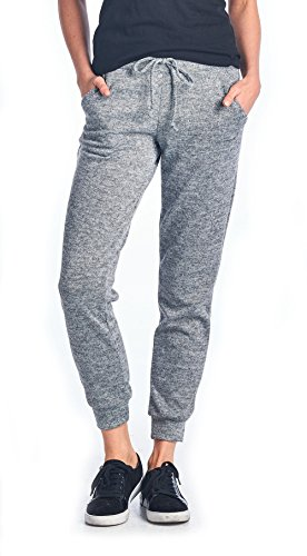 Tough Cookie's Women's Brushed Soft Long Pants Plain (Made in USA)...