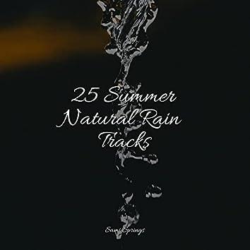 25 Summer Natural Rain Tracks