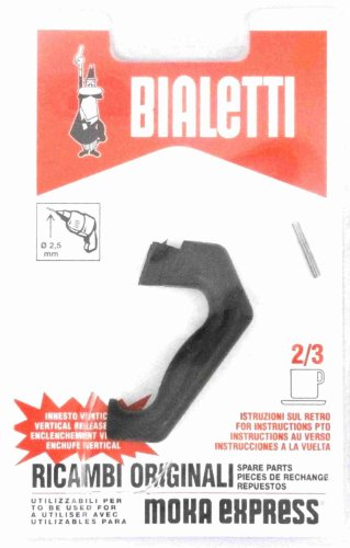 Bialetti: replacement for Moka Express 2/3-cups (1 handle) [ Italian Import ]