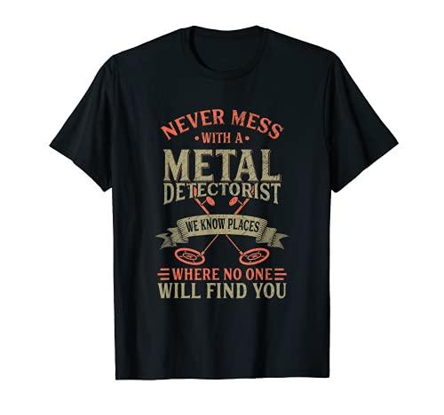 Funny Detectorist Detección de metales Detección Camiseta