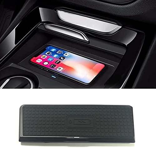 Cargador de teléfono de carga inalámbrico QI para coche de 10 W, accesorios de soporte para teléfono de carga para BMW X3 X4 F25 F26 2014 2015 2016 2017