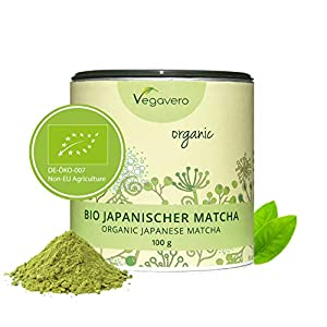 Matcha–100% original de Japón (té matcha Matcha té verde), orgánico, área de Kagoshima (isla de Kyushu, sur de Japón) Matcha–recién recolectadas directamente desde la plantación: Hecho de las hojas de la matcha-tea arbustos. Son recolectada con c...