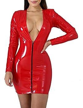 Best short leather dress Reviews