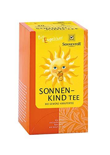 Sonnentor Bio Sonnenkind Babytee bio, Aufgussb. Spender (2 x 20 Btl)