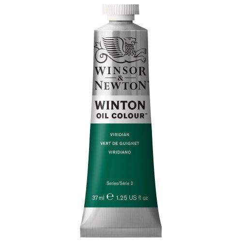 Winsor & Newton Winton Oil Color Paint, 37-ml Tube, Viridian