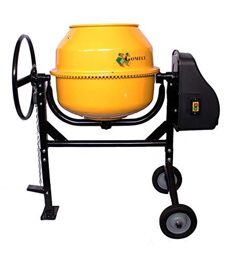 Hormigonera Electrica 125 Litros CM125 450W Pedal de Fijación con Piñon Hierro
