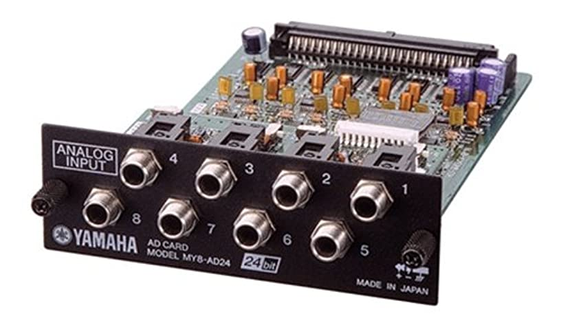 Yamaha MY8AD24 24 Bit 8-Channel Analog Input Card for AW Series Workstations